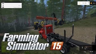 getlinkyoutube.com-Farming simulator 2015 Clear Cut RedWood Trees