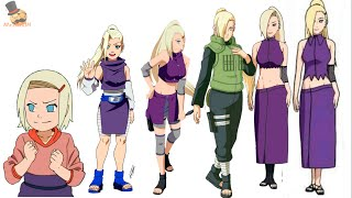 getlinkyoutube.com-Naruto:Ino Yamanaka evolution