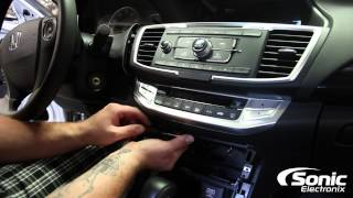 How To Remove Factory Stereo | 2014 Honda Accord