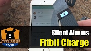 getlinkyoutube.com-Fitbit Charge - Set up Silent Alarms with iPhone