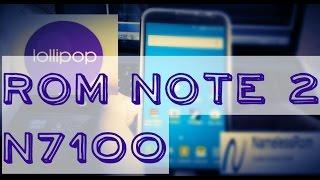 getlinkyoutube.com-Roms Note 2 n7100 Lollipop 2015 Nemesis