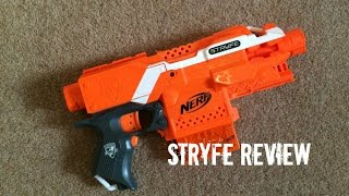 getlinkyoutube.com-Nerf N-Strike Elite (Orange Version) Stryfe Unboxing & Quick Mod