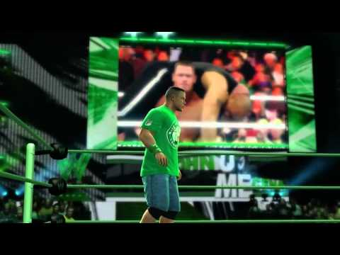 John Cena's Entrance + Finishers (WWE 13 Gameplay)