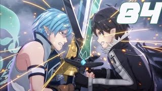 getlinkyoutube.com-Sword Art Online Lost Song Walkthrough Gameplay Part 84  - Kirito VS  Sumeragi