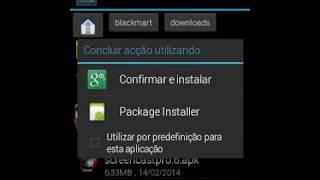 Resolver o problema de aplicação não instalada!!