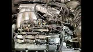 getlinkyoutube.com-01' Lexus RX300 1MZ-FE 3.0L Valve Cover Gasket,VVT Gear and Oil Control Valve