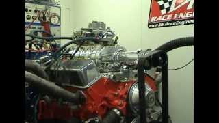 Blown 350 Chevy Screaming - 144 Weiand Supercharger