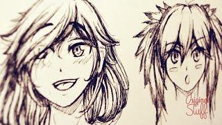 getlinkyoutube.com-¿Cómo dibujar Cabello tipo Manga/Anime? [Introducción]
