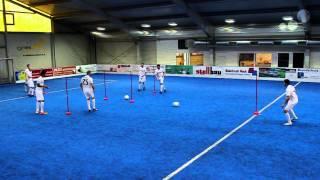 getlinkyoutube.com-Atletico Madrid: Diego Simeone Pass Drill and Soccer Awareness