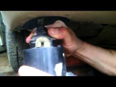 Замена лампочки противотуманки на Gelly MK