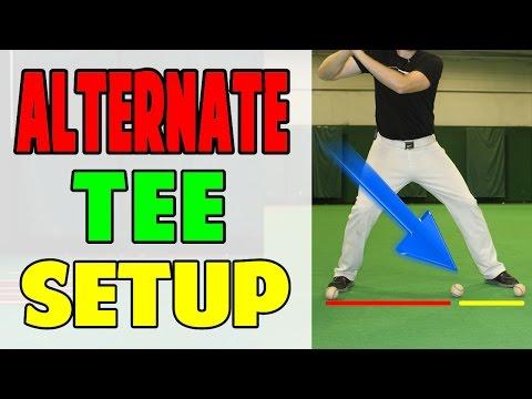 Alternate Tee Setup | Pro Speed Baseball