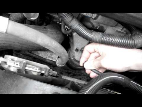 Проверка гидравлических подушек двигателя Volvo s60 D5