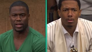 getlinkyoutube.com-EXCLUSIVE: Nick Cannon and Kevin Hart Get Real at 'Real Husbands of Hollywood' Reunion