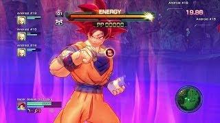 getlinkyoutube.com-Dragon Ball Z: Battle of Z - Super Saiyan God Goku v Bills (Beerus) Gameplay HD
