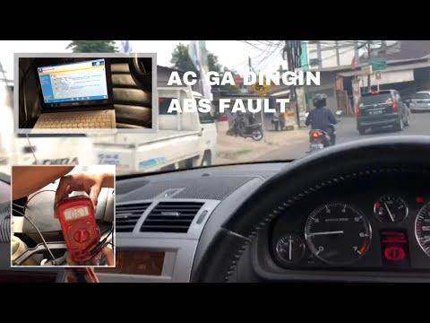 AC tidak dingin dan ABS fault peugeot 407 sw
