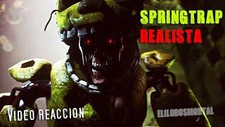 getlinkyoutube.com-Así seria Springtrap en Película | Two Evil eyes - SFM Five Nights at Freddy's 3 | Vídeo reacción