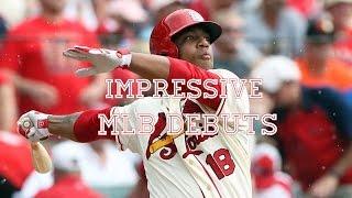 getlinkyoutube.com-Impressive MLB Debuts