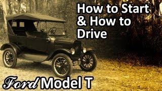 getlinkyoutube.com-Ford Model T - How to Start & How to Drive