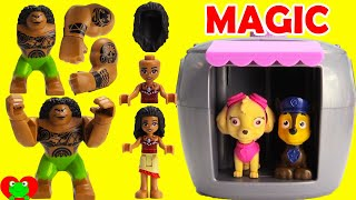 Paw Patrol Skye's Magical Pup House Helps Find Moana and Disney Friends