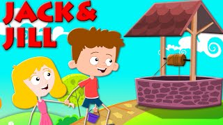 getlinkyoutube.com-Jack and Jill Nursery Rhyme | Songs And Poems For Kids and Children