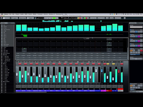 Cubase 7 Advanced Video Tutorials - Mix Console Rack