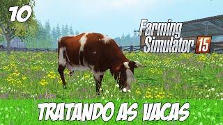 getlinkyoutube.com-Farming Simulator 2015 - Tratando as Vacas  PT-BR