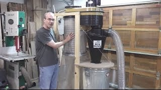 getlinkyoutube.com-Dust Collector Upgrade - Pt 2 - Complete System Rebuild