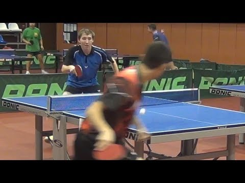 Grigoriy DRAGA vs Asilbek SUYNALIEV Moscow, Krylatskoe, Table Tennis Center in Krylatskiy Hills