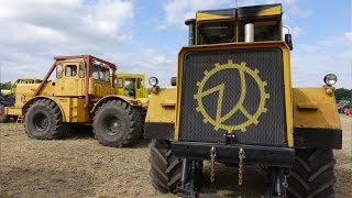 getlinkyoutube.com-The Lord of TRACTORS - Kirovets #18t K-700A Terra Top Pull Kasi & Have Fun Jesendorf 2015