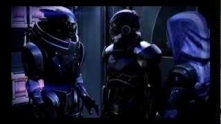 getlinkyoutube.com-Mass Effect 3 - Reaction of the all crew on flirts between Tali and Shepard