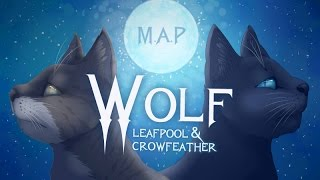 getlinkyoutube.com-Wolf - Leafpool & Crowfeather [Complete Warrior Cats M.A.P]