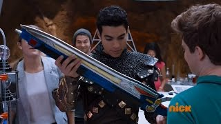 getlinkyoutube.com-Power Rangers Dino Charge - Knight After Knights - Intro Scene