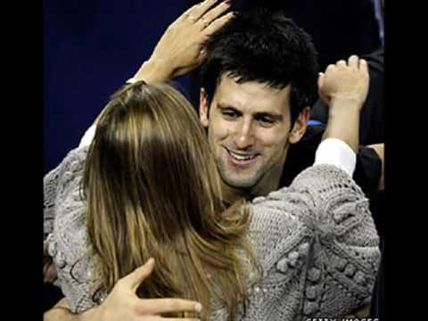 novak djokovic jelena ristic. Novak Djokovic and Jelena
