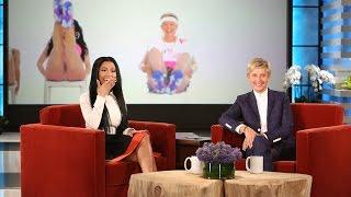 Nicki Minaj Reacts to Ellen's 'Anaconda'