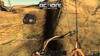 getlinkyoutube.com-Rust - Hunting bow + P250 vs M4 Full kevlar