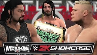 getlinkyoutube.com-WWE 2K17 2K Showcase - ROLLINS CASHES IN AT WRESTLEMANIA 31 (Architect 2K Showcase Custom DLC)