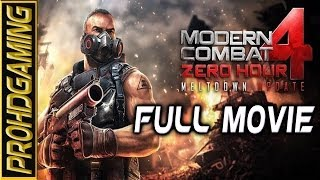 Modern Combat 4 Zero Hour I Android I Full Movie I Gameplay Walkthrough [HD]