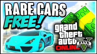 getlinkyoutube.com-GTA 5 Rare Cars : FREE RARE CARS 1.31 - Secret Storable Vehicles (GTA 5 Online Rare Cars Guide)