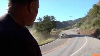 La vidéo du crash de la ferrari pour le clip de dr dre (i need a doctor)