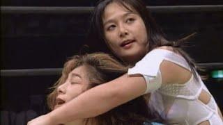 getlinkyoutube.com-Takako Inoue (AJW) vs Cutie Suzuki (JWP)
