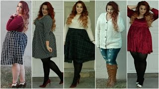 getlinkyoutube.com-The Curvy Diaries: Winter Lookbook | Plus-Size