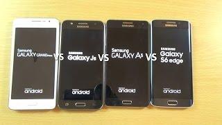 getlinkyoutube.com-Samsung Galaxy J5 VS A5 VS S6 VS Grand Prime - Speed Test