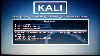getlinkyoutube.com-Setup & Install Kali Linux Rolling Live USB Persistence