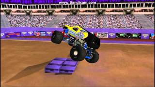 getlinkyoutube.com-RoR Monster jam Bounty Hunter 2015 Freestyle