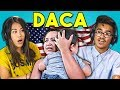 TEENS REACT TO DACA ILLEGAL IMMIGRATION POLICY