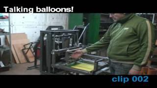 getlinkyoutube.com-Печать на шарах clip 002 МПШ - 01 механический принтер.WMV