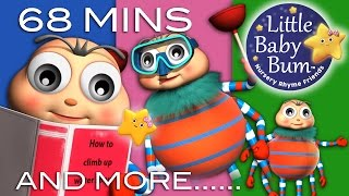 getlinkyoutube.com-Itsy Bitsy Spider | Plus Lots More Nursery Rhymes | 68 Minutes Compilation from LittleBabyBum!