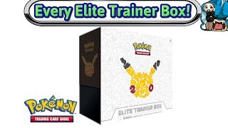 getlinkyoutube.com-Opening Every Elite Trainer Box Made - Generations - Pokemon TCG Unboxing