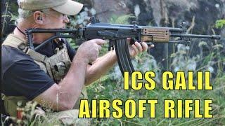getlinkyoutube.com-AIRSOFT WAR ICS GALIL, L96 SNIPER RIFLE