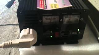 getlinkyoutube.com-Power Inverter 12v-220v 1500w/3000w(peak) charger+UPS (KP-INV12V-UPS)
